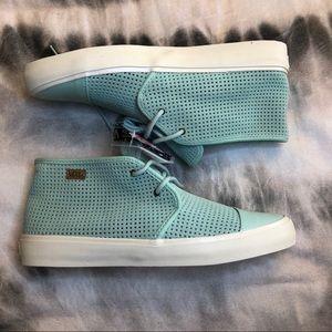 09be2cb6d416 Vans Shoes - NWT Gossamer Green Rhea Vans